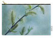 Willow Catkins Carry-all Pouch