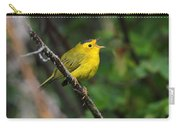 Wilsons Warbler In Song Carry-all Pouch