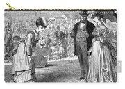Wimbledon: Croquet, 1870 Carry-all Pouch by Granger