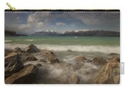 Wind Storm On Lake Pukaki Carry-all Pouch