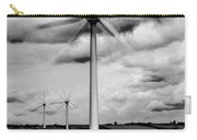 Wind Turbines Mono Carry-all Pouch