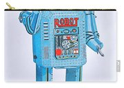 Wind-up Robot Carry-all Pouch