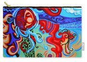 Winding Sun Carry-all Pouch by Genevieve Esson