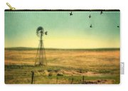 Windmill And Birds Carry-all Pouch