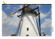 Windmill And Blue Sky Carry-all Pouch by Carol Groenen