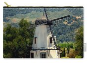 Windmill At Mission Meadows Solvang Carry-all Pouch