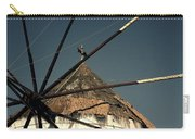windmill Greece Carry-all Pouch by Joana Kruse