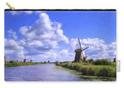 Windmills In Holland Carry-all Pouch
