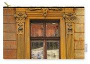Window And Pediment In Ljubljana Slovenia Carry-all Pouch