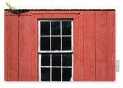 Window In Red Wall Carry-all Pouch