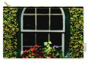 Window On An Ivy Covered Wall Carry-all Pouch