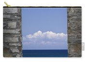 Window View At Fayette State Park Michigan Carry-all Pouch