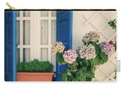 Window With Flowers Carry-all Pouch