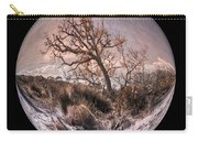 Windswept At Driftwood Beach II Carry-all Pouch by Debra and Dave Vanderlaan