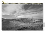 Windswept Hills Bw Carry-all Pouch