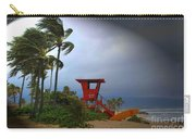 Windy Day In Haleiwa Carry-all Pouch