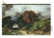 Windy Hilltop Carry-all Pouch by Thomas Moran