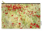 Windy Poppies Carry-all Pouch