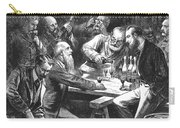 Wine Tasting, 1876 Carry-all Pouch by Granger