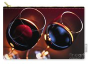 Wineglasses Carry-all Pouch by Elena Elisseeva