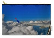 Wing And Clouds Carry-all Pouch