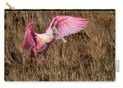 Wings Of Pink And Silk Carry-all Pouch