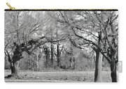 Winter At The Edge Of The Woods Carry-all Pouch