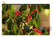 Winter Bird Treet Carry-all Pouch