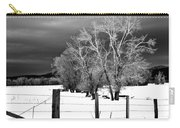 Winter Cottonwoods Carry-all Pouch