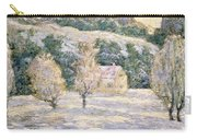 Winter Carry-all Pouch by Ernest Lawson