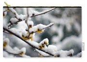 Winter Fleurs Carry-all Pouch