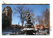 Winter In Cathedral Park Santa Fe Carry-all Pouch