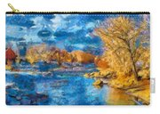 Winter In Salida -- Renoir Carry-all Pouch