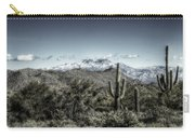 Winter In The Desert Carry-all Pouch