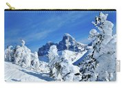 Winter In The Tetons Carry-all Pouch