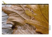 Autumn Leaves Of Gold Carry-all Pouch