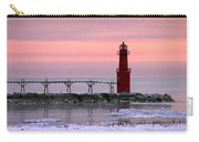 Winter Lighthouse Carry-all Pouch