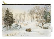 Winter On Ravensdale Road Carry-all Pouch