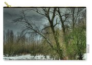 Winter On The Nicomen Slough Carry-all Pouch
