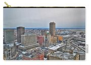 Winter Scene Downtown Buffalo Carry-all Pouch