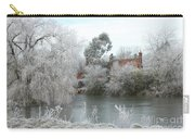 Winter Scene In Surrey, England Carry-all Pouch