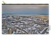 Winter Scene Land And Water Carry-all Pouch