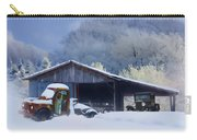 Winter Shed Carry-all Pouch by Ron Jones