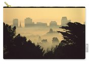 Winter Smog Over The City Carry-all Pouch