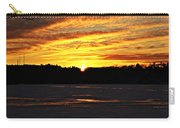 Winter Sunset I Carry-all Pouch