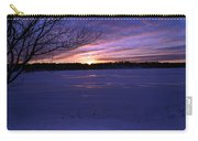 Winter Sunset IIi Carry-all Pouch