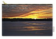 Winter Sunset Iv Carry-all Pouch