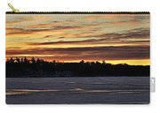 Winter Sunset V Carry-all Pouch