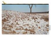 Winter Tree Nachusa Grasslands Carry-all Pouch