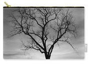 Winter Tree Silhouette Carry-all Pouch